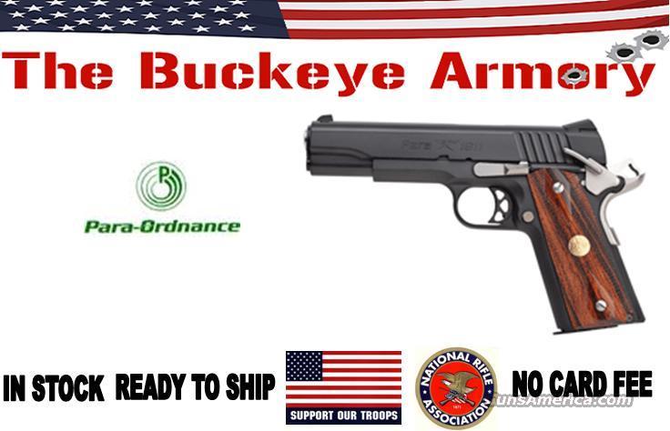 "PARA-USA PXT 1911 SSP .45ACP 5"" 7RD BLACK PK2 WOOD  Guns > Pistols > Para Ordnance Pistols"