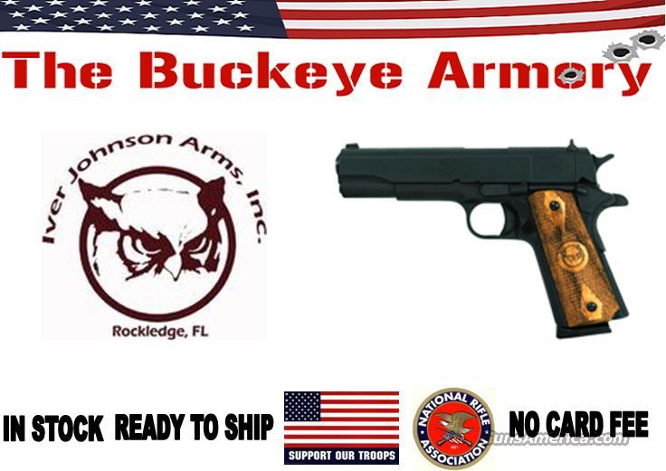 "IVER JOHNSON 1911A1 STANDARD .45ACP 5"" FS 8RD MATTE  Guns > Pistols > Iver Johnson Pistols"