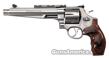 "S&W 629 COMPENSATED HUNTER .44MAG 7.5"" AS SS WOOD  Guns > Pistols > Smith & Wesson Revolvers > Performance Center"