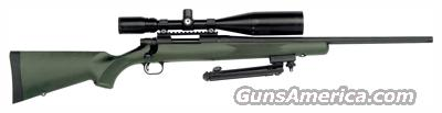 MOSSBERG 100ATR NIGHT TRAIN .308 W/4-16X50MM SCOPE BLK/OD GREEN  Guns > Rifles > Mossberg Rifles > 100 ATR