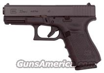 GLOCK 23 .40SW GEN4 FIXED SIGHTS 13RD BLACK  Guns > Pistols > Glock Pistols > 23