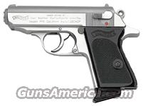 WALTHER PPK .380ACP SS FS 6+1 RD BLACK SYNTHETIC GRIPS  Guns > Pistols > Walther Pistols > Post WWII > PPK Series