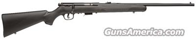 SAVAGE MARK II-F .22 LR BLUED/BLACK SYNTHETIC  Guns > Rifles > Savage Rifles > Accutrigger Models > Sporting