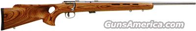 "SAVAGE MARK II-BTVS .22LR 21""HB SS/BR. LAMINATE T-HOLE  Guns > Rifles > Savage Rifles > Accutrigger Models > Sporting"