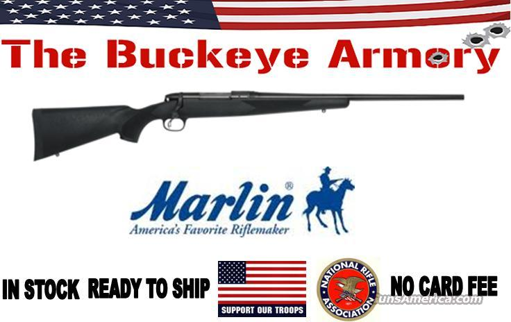 MARLIN X7 .308 RIFLE BLUED BLACK  Guns > Rifles > Marlin Rifles > Modern > Bolt/Pump