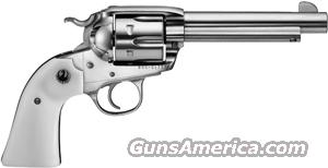 "RUGER BISLEY VAQUERO .357MAG 5.5"" FS S/S SIMULATED IVORY  Guns > Pistols > Ruger Single Action Revolvers > Cowboy Action"