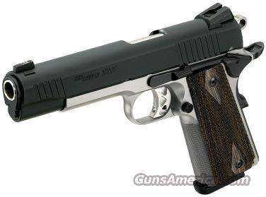 SIG 1911 TRADITIONAL 45ACP DUO TONE NS 2 8RD   Guns > Pistols > Sig - Sauer/Sigarms Pistols > 1911