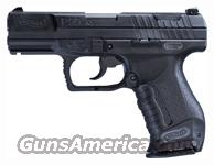 "WALTHER P99 9MM LUGER 4"" AS 15-SHOT BLACK POLYMER  Guns > Pistols > Walther Pistols > Post WWII > P99/PPQ"