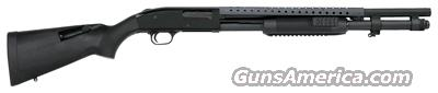 "MOSSBERG 590 TRI-RAIL 12GA. 3"" 9-SH 20"" BEAD MATTE BLUE SYNTHTIC  Guns > Shotguns > Mossberg Shotguns > Pump > Tactical"