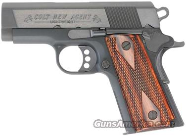 "COLT NEW AGENT .45ACP 3"" FIXED 7-SH CONCEAL CARRY BLACK WOOD  Guns > Pistols > Colt Automatic Pistols (1911 & Var)"