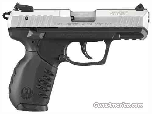 "RUGER SR22PS .22LR 3.5"" AS 10-SHOT SILVER ANODIZED  Guns > Pistols > Ruger Semi-Auto Pistols > P-Series"