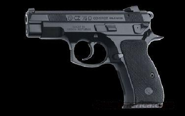 CZ 75 D PCR COMPACT 9MM DECOCKER BLK ALLOY 14RD   Guns > Pistols > CZ Pistols