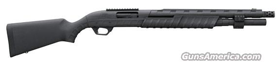 "REMINGTON 887 NITRO-MAGNUM TACTICAL 12GA. 3.5"" 7-SH 18.5"" RC BLK  Guns > Shotguns > Remington Shotguns  > Pump > Tactical"