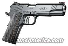 REMINGTON 1911 ERP-C ENHANCED S/S 8-SHOT BLUED LAMINATE WOOD  Guns > Pistols > Remington Pistols - Modern