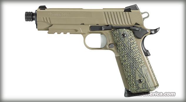 SIG SAUER 1911 45ACP SCORPION DRK EARTH CARRY THRD BBL   Guns > Pistols > Sig - Sauer/Sigarms Pistols > 1911