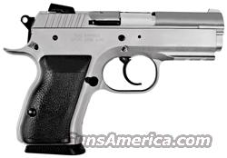 EAA WITNESS COMPACT 9MM 14RD. FS CHROME SYN W/ACCY RAIL  Guns > Pistols > CZ Pistols