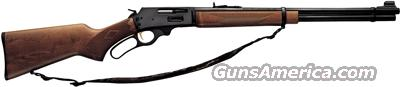 "MARLIN 336W .30-30 20"" 6-SHOT BLUED HARDWOOD W/SLING  Guns > Rifles > Marlin Rifles > Modern > Lever Action"