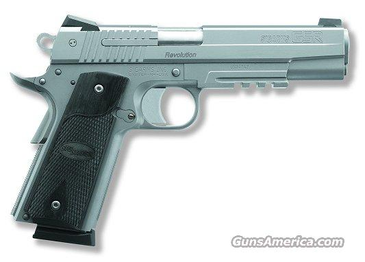 SIG 1911R 45ACP SS NS 2 8RD RAIL ROSEWOOD GRIPS  Guns > Pistols > Sig - Sauer/Sigarms Pistols > 1911