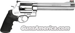 "S&W 500 .500SW 8.38"" AS 5-SHOT HI-VIZ STAINLESS  Guns > Pistols > Smith & Wesson Revolvers > Full Frame Revolver"