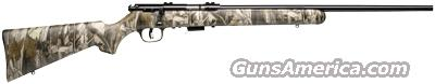SAVAGE 93R17 .17HMR RIFLE BLUED/CAMO SYNTHETIC  Guns > Rifles > Savage Rifles > Accutrigger Models > Sporting