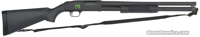 "MOSSBERG 500 ZOMBIE 12GA 20"" BLUE SYN BEAD SIGHT 8RD   Guns > Shotguns > Mossberg Shotguns > Pump > Tactical"