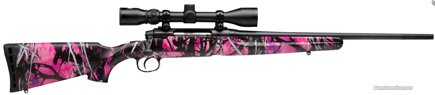SAVAGE AXIS YOUTH .223 REM MUDDY GIRL CAMO SYN W/3-9X40  Guns > Rifles > Savage Rifles > Standard Bolt Action > Sporting