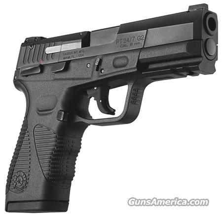 "TAURUS 24/7 GEN2 9MM 4.2"" AS 17-SHOT BLUED BLACK   Guns > Pistols > Taurus Pistols/Revolvers > Pistols > Polymer Frame"