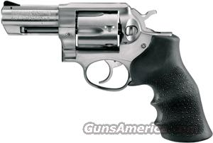 "RUGER GP100 .357MAG 3"" FS STAINLESS HOGUE MONOGRIP  Guns > Pistols > Ruger Double Action Revolver > Redhawk Type"
