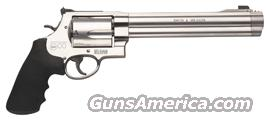 "S&W 500 .500SW 8.38"" AS 5-SHOT STAINLESS STEEL RUBBER  Guns > Pistols > Smith & Wesson Revolvers > Full Frame Revolver"