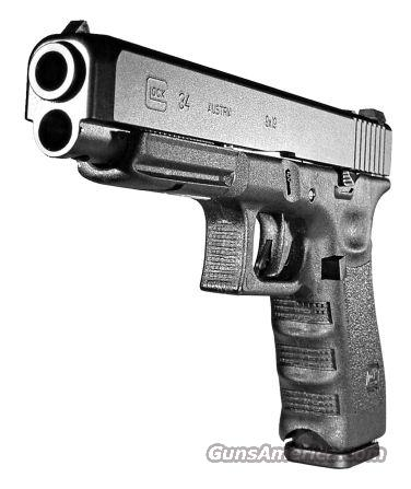 GLOCK 34 9MM AS 17-SHOT BLACK  Guns > Pistols > Glock Pistols > 31/32/33