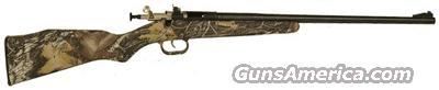 CRICKETT RIFLE .22LR BLUED/MOSSY OAK BREAK-UP  Guns > Rifles > C Misc Rifles