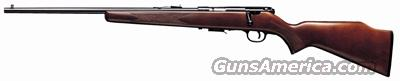 SAVAGE 93GL .22WMR LEFT HAND BLUED/HARDWOOD MC STOCK  Guns > Rifles > Savage Rifles > Accutrigger Models > Sporting