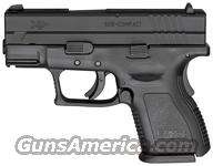 "SPRINGFIELD XD SUB-COMPACT 9MM LUGER 3"" FS 13-16SH BLK/BLK W/XD GEAR  Guns > Pistols > Springfield Armory Pistols > XD (eXtreme Duty)"