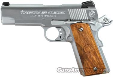 AMERICAN CLASSIC COMMANDER .45ACP ADJ CHROME WOOD 8-SHOT  Guns > Pistols > 1911 Pistol Copies (non-Colt)