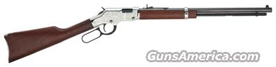 HENRY SILVER EAGLE LEVER RIFLE .22 CALIBER S,L,LR  Guns > Rifles > Henry Rifle Company