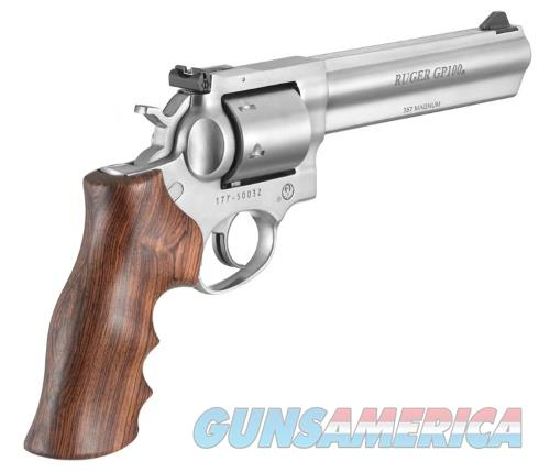 "RUGER GP100 357 MAGNUM | 38 SPECIAL UNFLUTED 6""  Guns > Pistols > Ruger Double Action Revolver > GP100"