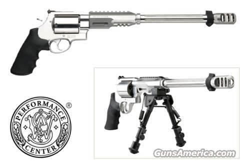 "SW 460XVR HUNTER 460SW 14"" SS 5RD W/BIPOD  Guns > Pistols > Smith & Wesson Revolvers > Performance Center"