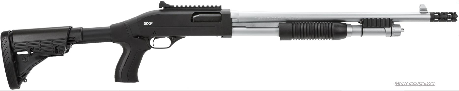 "WINCHESTER SUPER-X PUMP Marine Defender 12ga 18"" 3"" 5+1 Blk PG Stk Chrome  Guns > Shotguns > Winchester Shotguns - Modern > Pump Action > Hunting"