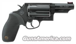 "TAURUS JUDGE .45/.410-2.5"" 3"" FS 5-SHOT BLUED RUBBER  Guns > Pistols > Taurus Pistols/Revolvers > Revolvers"