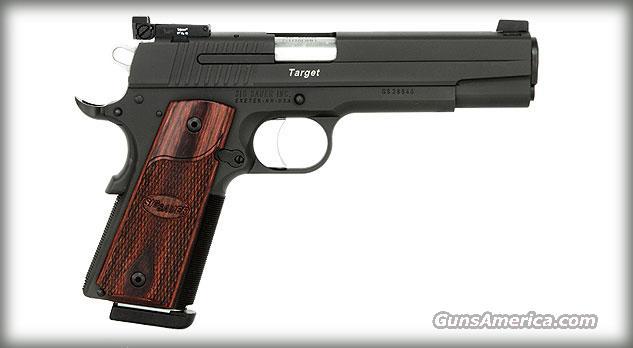 SIG SAUER 1911 45ACP TARGET ADJ TGT SIGHTS ROSEWOOD   Guns > Pistols > Sig - Sauer/Sigarms Pistols > 1911