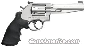 "S&W PRO SERIES 686PLUS .357 5"" AS 7-SHOT STAINLESS RUBBER  Guns > Pistols > Smith & Wesson Revolvers > Full Frame Revolver"