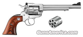 "RUGER SINGLE-SIX CONVERTIBLE .22LR/.22WMR 6.5"" AS S/S   Guns > Pistols > Ruger Single Action Revolvers > Single Six Type"