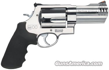 "S&W 500 .500SW 4"" AS 5-SHOT STAINLESS STEEL  Guns > Pistols > Smith & Wesson Revolvers > Full Frame Revolver"