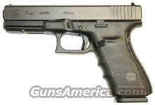 GLOCK 21 .45ACP GEN-4 FIXED SIGHT 13SH   Guns > Pistols > Glock Pistols > 20/21