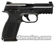 FNH FNS-40 MS .40SW 14-SHOT NIGHT SIGHTS BLACK  Guns > Pistols > FNH - Fabrique Nationale (FN) Pistols > High Power Type