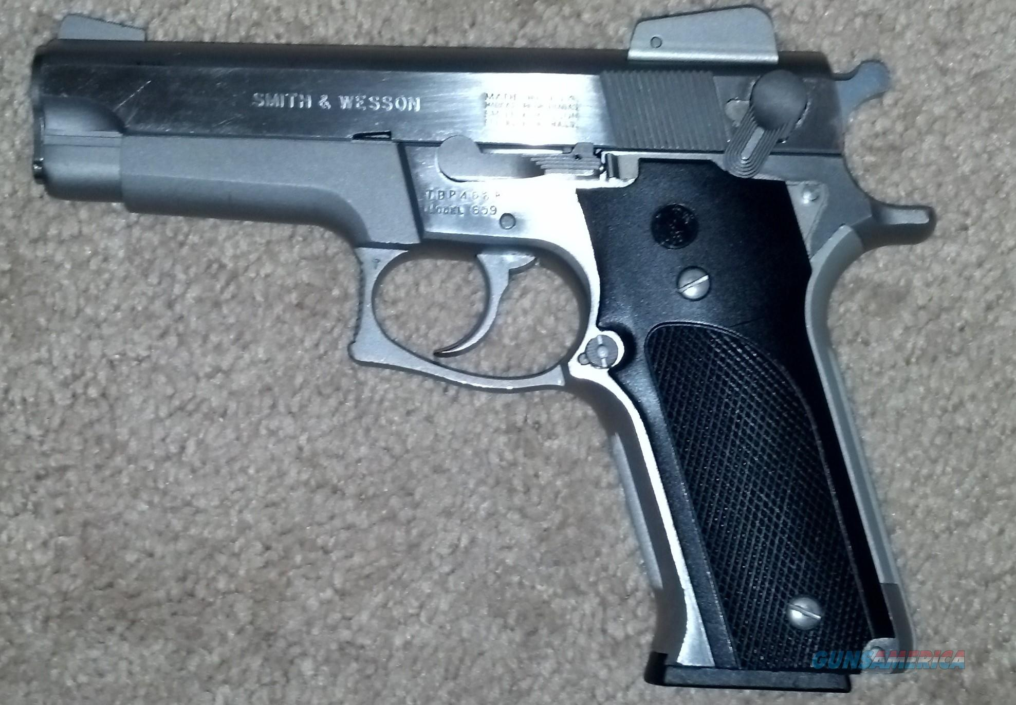 Smith & Wesson 659 Stainless Steel  Guns > Pistols > Smith & Wesson Pistols - Autos > Steel Frame