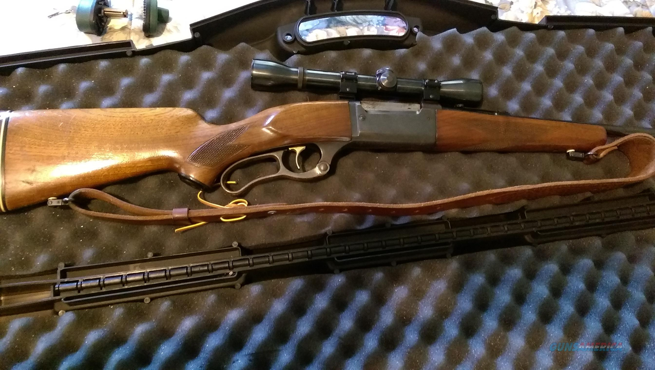 Savage model 99f .243 lever action  Guns > Rifles > Savage Rifles > Model 95/99 Family