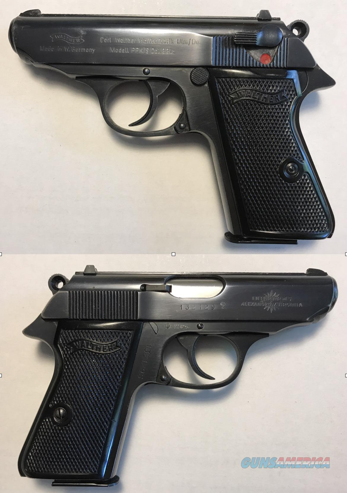 German Walther PPK/S . 22LR  Guns > Pistols > Walther Pistols > Post WWII > PPK Series