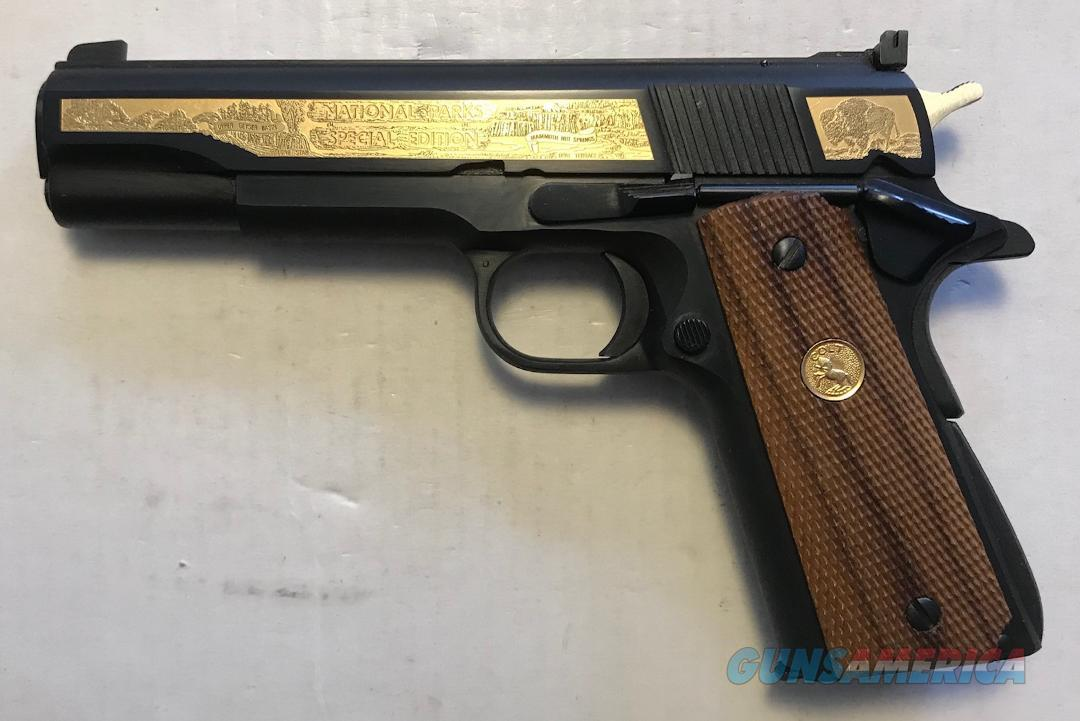 Colt Ace .22 National Parks Spec Edit Custom Shop  Guns > Pistols > Colt Commemorative Pistols