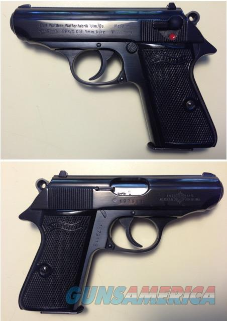 German Walther PPK/S 9mmK >380acp Mfg. 1975  Guns > Pistols > Walther Pistols > Post WWII > PPK Series